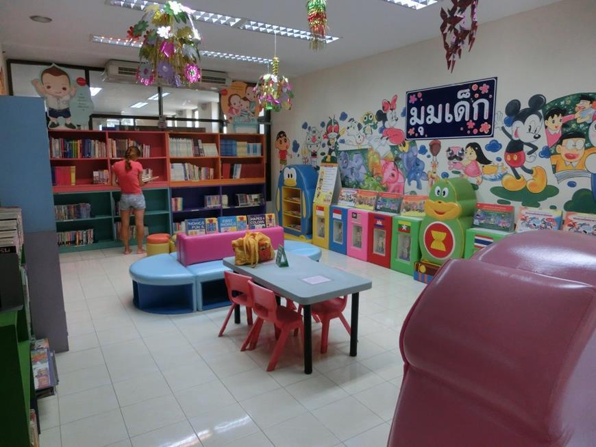 Бесплатная игровая комната для детей на Джомтьене в Паттайе