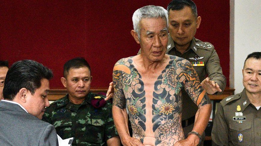 Член якудза скрывался в Таиланде 15 лет, но был пойман благодаря фотографии фаната