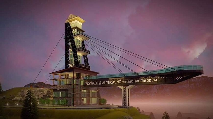 Голова в облаках: в Таиланде откроют самую длинную прогулочную площадку в небе