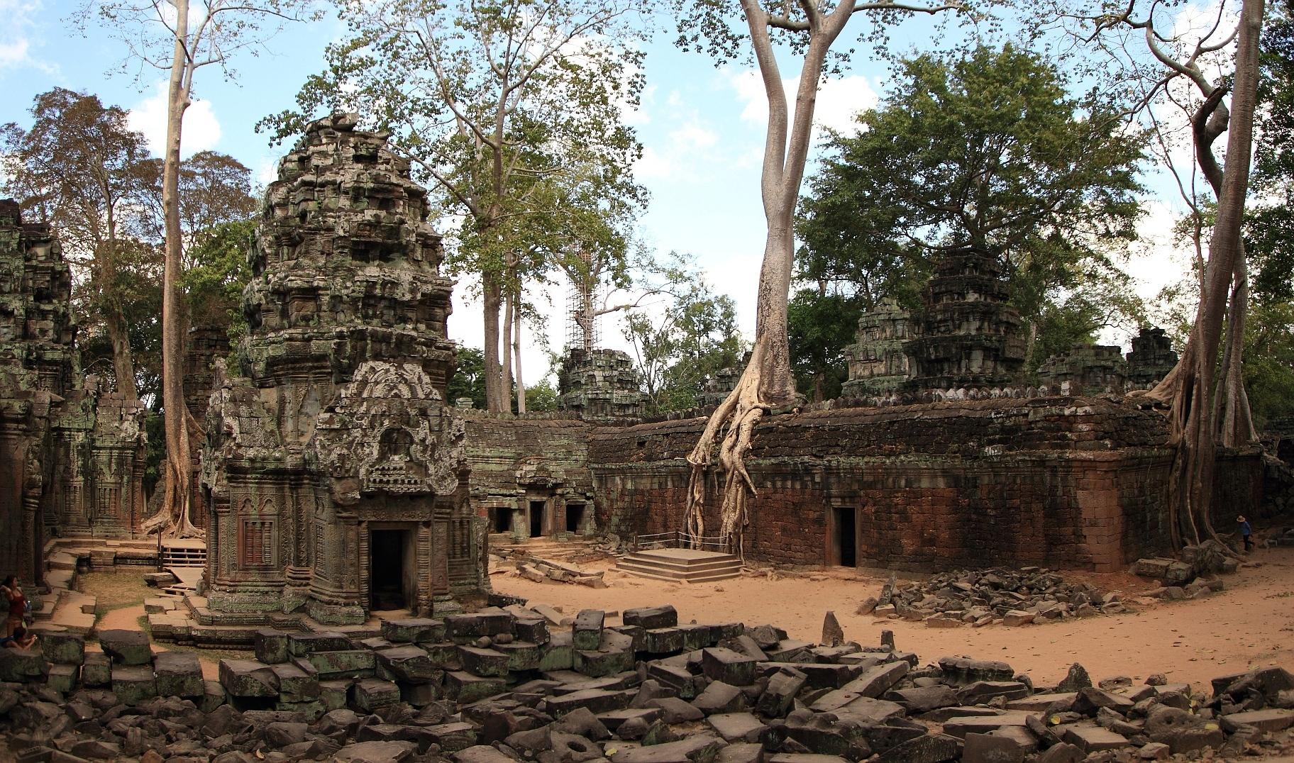 Знакомить ли детей с храмами Ангкора?