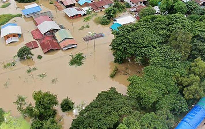 Таиланд постепенно уходит под воду из-за последнего тайфуна