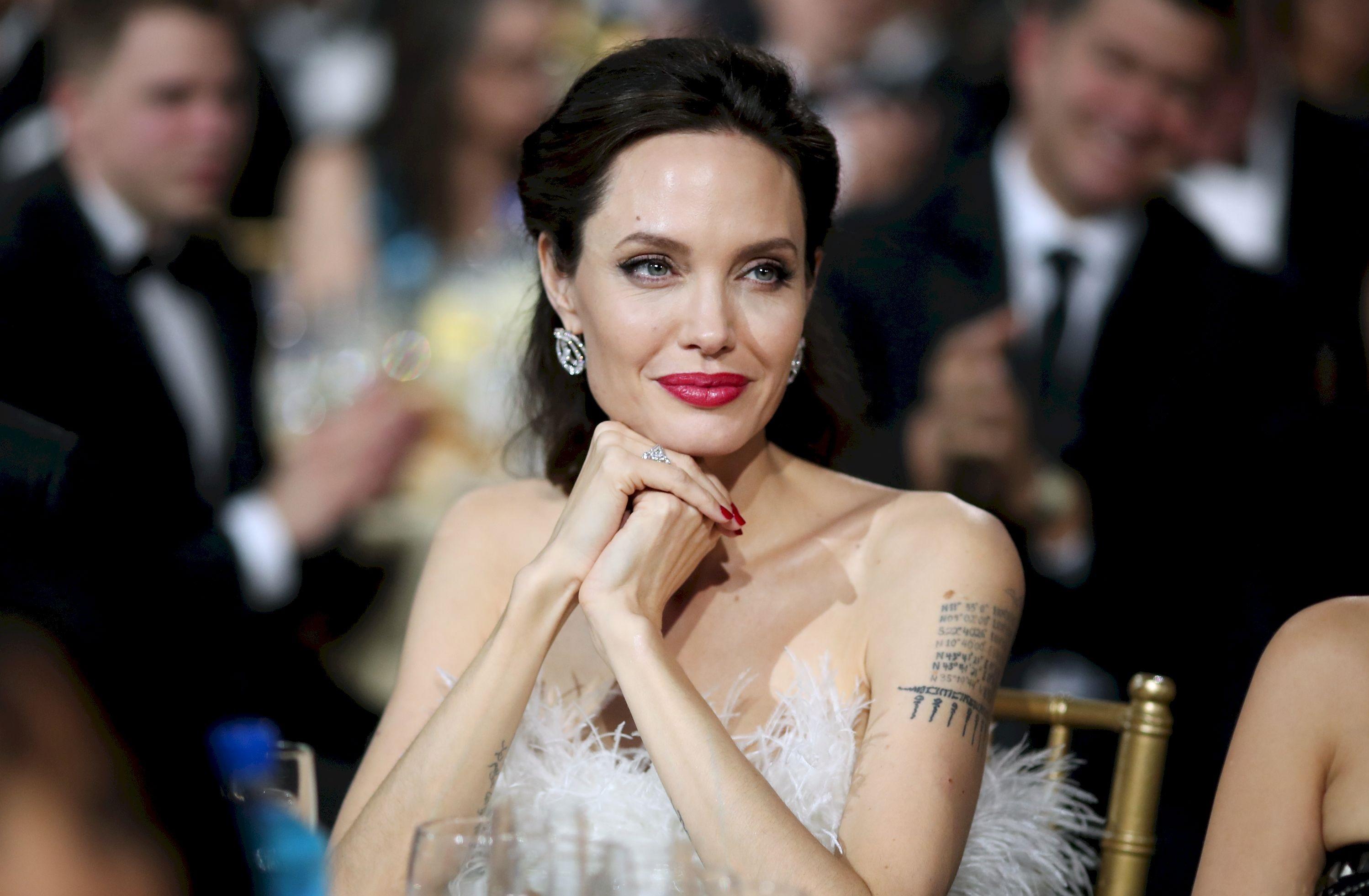 Актриса Анджелина Джоли нашла новую любовь