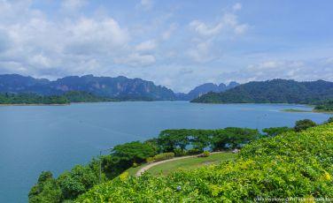 Дамба на озере Чео-Лан(Cheow-Lan), Таиланд