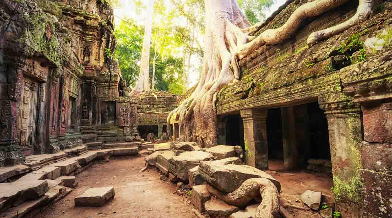 Камбоджа удивительная страна