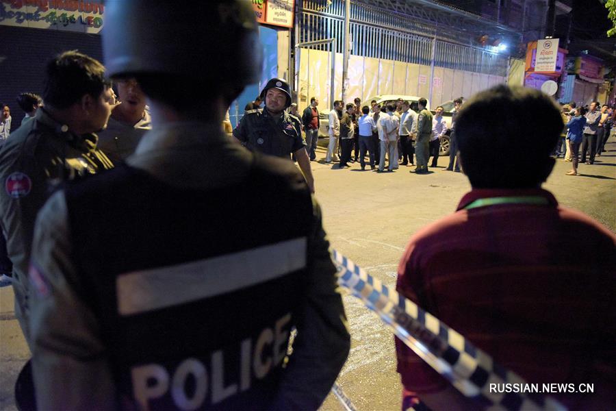 4 человека погибли, еще 5 пострадали в результате взрыва газового баллона в столице Камбоджи