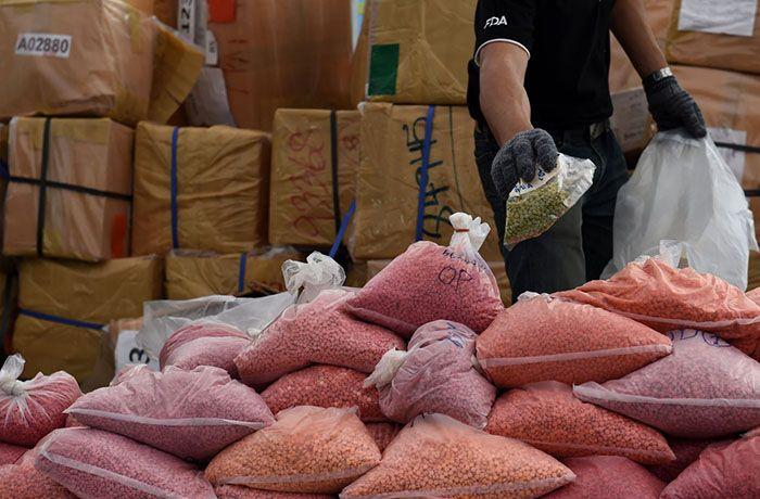 В Таиланде 47-я церемония по уничтожению запрещённых препаратов проводилась в 3-х провинциях Королевства