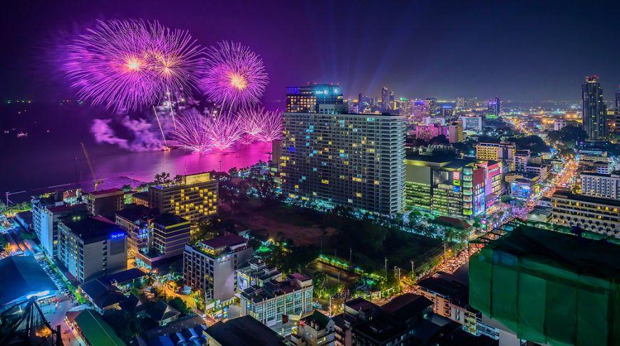 В Паттайе пройдет фестиваль с лучшими фейерверками в Азии