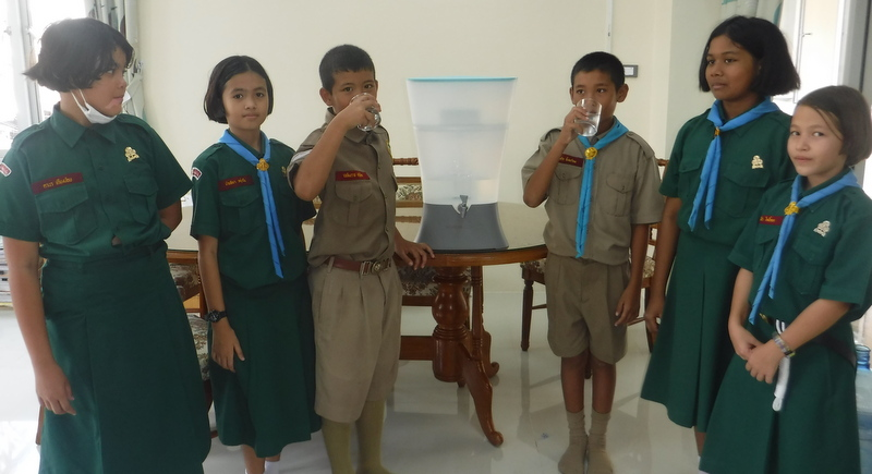 Благотворительный гала-ужин ради чистой воды для школ Пхукета