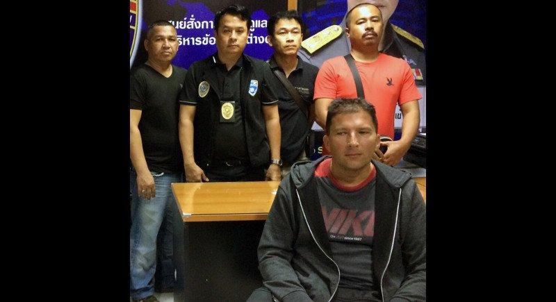 На Пхукете задержан иностранец, разыскиваемый за умышленную передачу ВИЧ