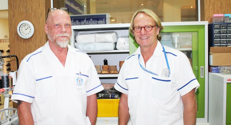 Тедди, Бенгт и их Scandinavian Orthopaedic Laboratory