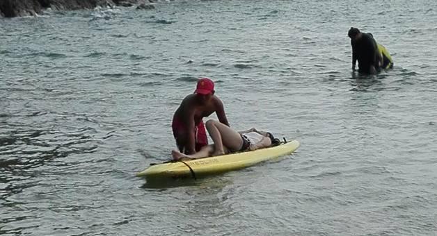 Пляжные спасатели напоминают об опасности морской фауны