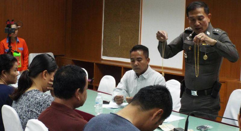 Шесть человек были задержаны по делу о сбыте поддельных ювелирных изделий на Пхукете