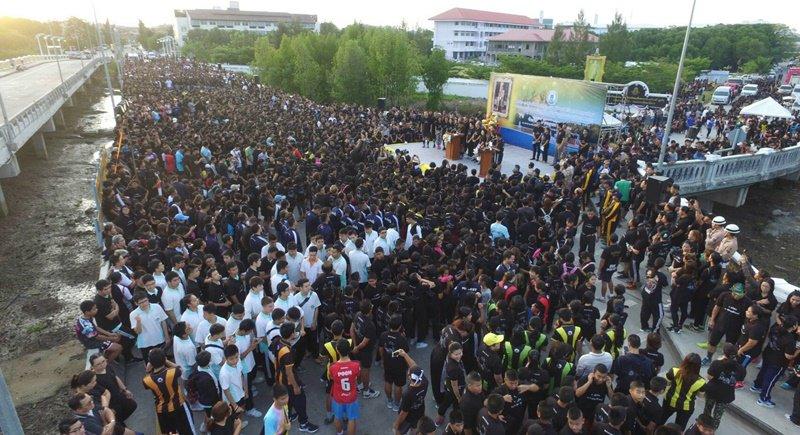Более 7000 человек приняли участие в забеге в честь дня рождения Рамы X