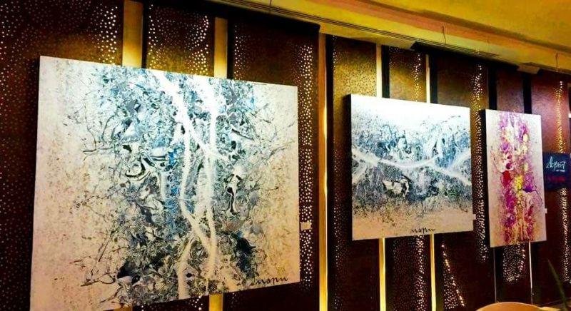 Гостиница Pavilions открыла экспозицию работ семи пхукетских художников под название The Language of Art.