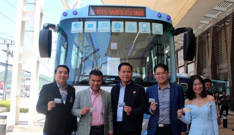 Смарт-автобусы начали работать на Пхукете. Новый автобусный маршрут – от аэропорта до Раваи вдоль западного побережья – начал работать на Пхукете утром 1 марта