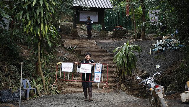 В Таиланде начали строить музей в память о спасении детей из пещеры