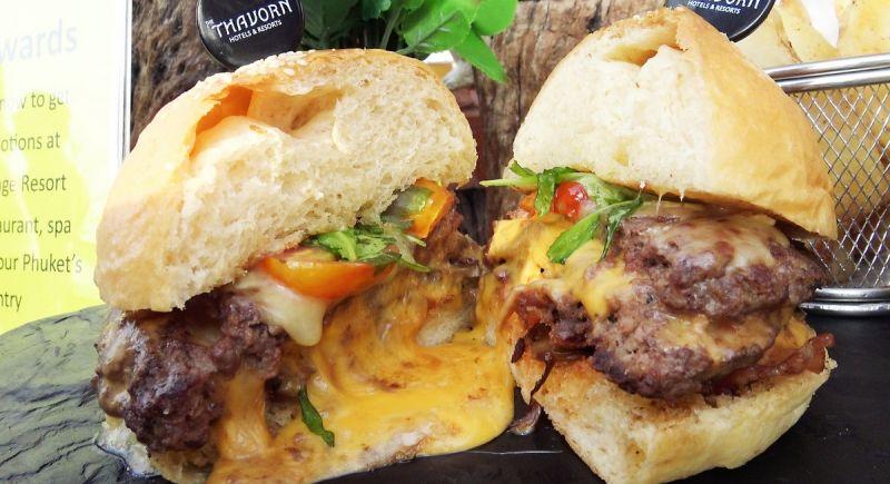 Три лучших бургера по итогам конкурса Phuket's Best Burger 2018