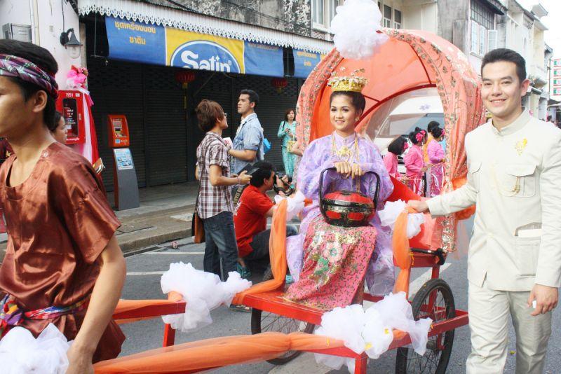 Китайские свадьбы как живой элемент культуры Перанакан на Пхукете