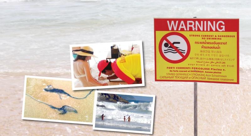 Опасный сезон: Главные пляжные угрозы на Пхукете