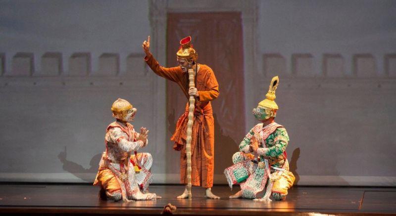 Тайский театр масок Кхон