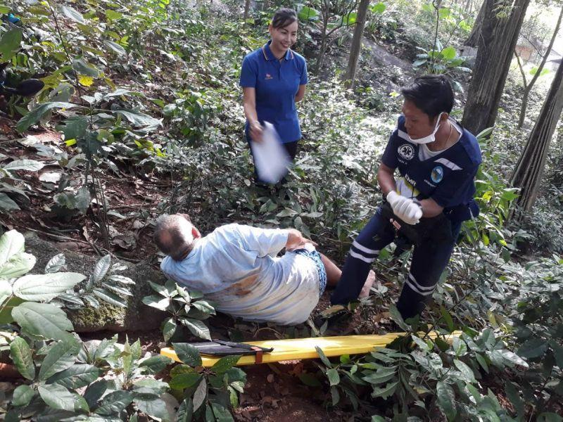 Гражданин России пострадал в аварии у пляжа Най-Харн