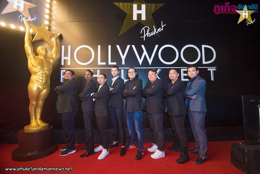 """Opening Hollywood Phuket"" represented Red Carpet Party Tonight Patong 69 Entertainment Co.,Ltd"