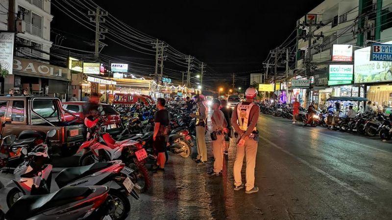 Полиция Патонга начнет жестче контролировать прокат мотоциклов