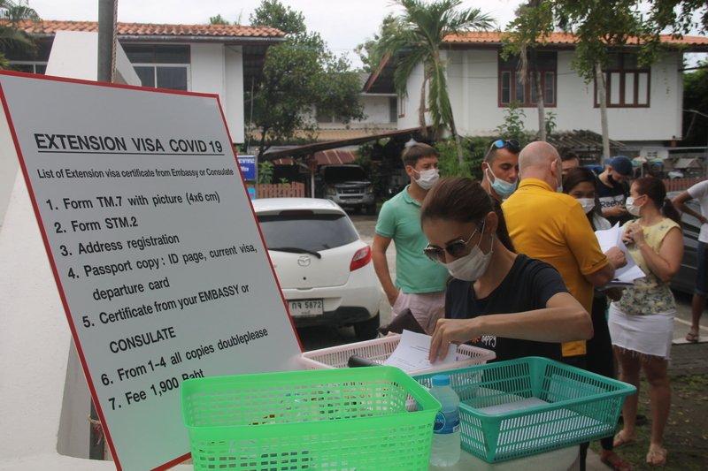 Иммиграционное бюро Пхукета продолжит прием иностранцев до 26 сентября включительно