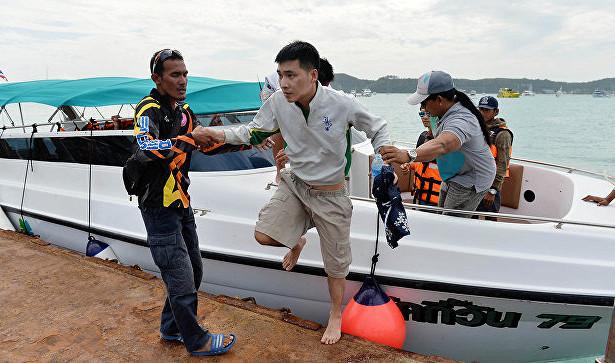 Владелица затонувшего в Таиланде катера сдалась полиции