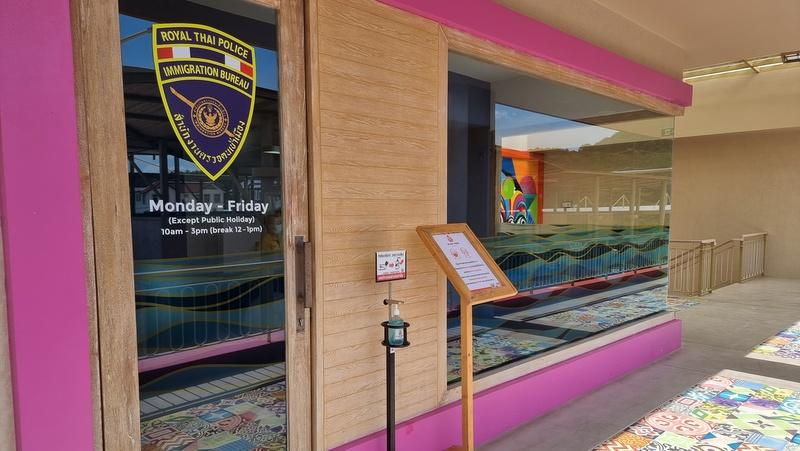 Отделение Иммиграционного бюро открылось в Blue Tree Phuket
