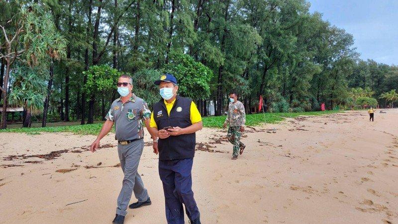 Операция по поиску крокодила у пляжа Лайан прошла безуспешно