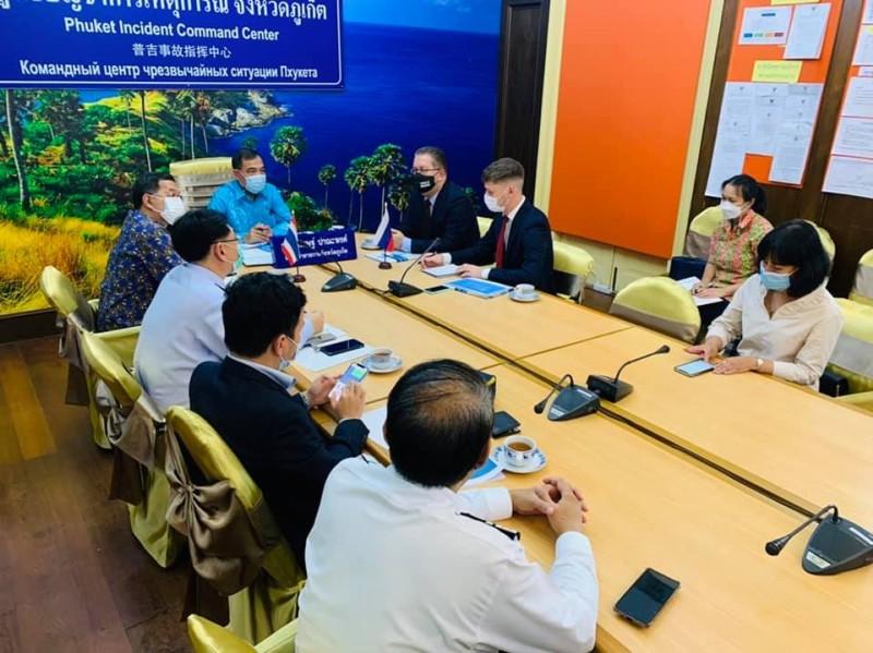 На Пхукете прошла встреча Генконсула РФ с вице-губернатором провинции