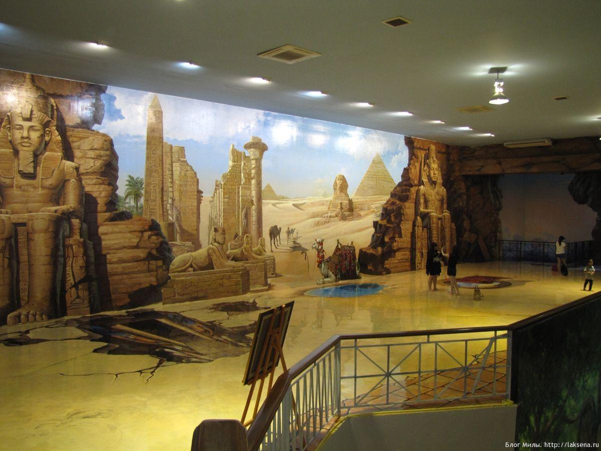 3D галерея в Паттайе Art In Paradise