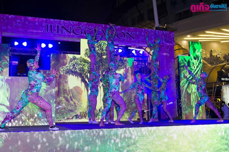 Крупный торговый центр на Патонге Jungceylon Пхукет отметил 10-летие
