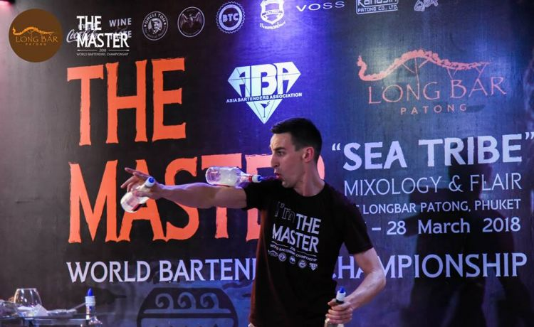 """THE MASTER 2018 WORLD BARTENDING CHAMPIONSHIP"""