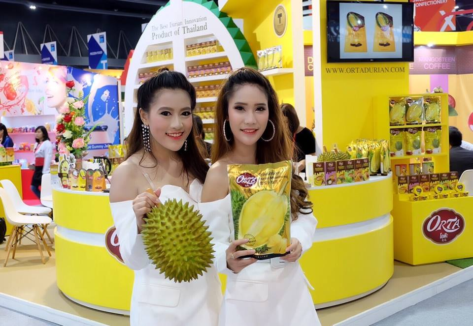"""Кампания """"ORTA""""  провела презентацию инновационных продуктов в рамках Международной выставки продуктов питания World of Food Asia """"Thaifex 2017"""""""