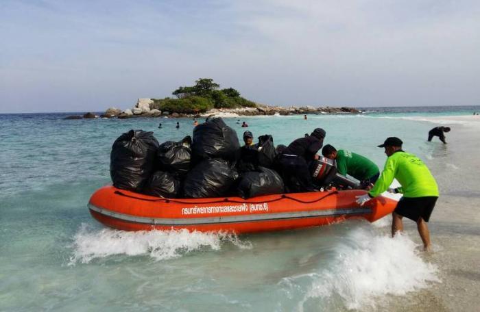Тайланд участвует в глобальной программе очистки океанов от мусора
