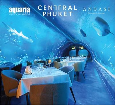 Аквариум Central Phuket и ресторан ANDASI предлагает своим гостям уникальные впечатления