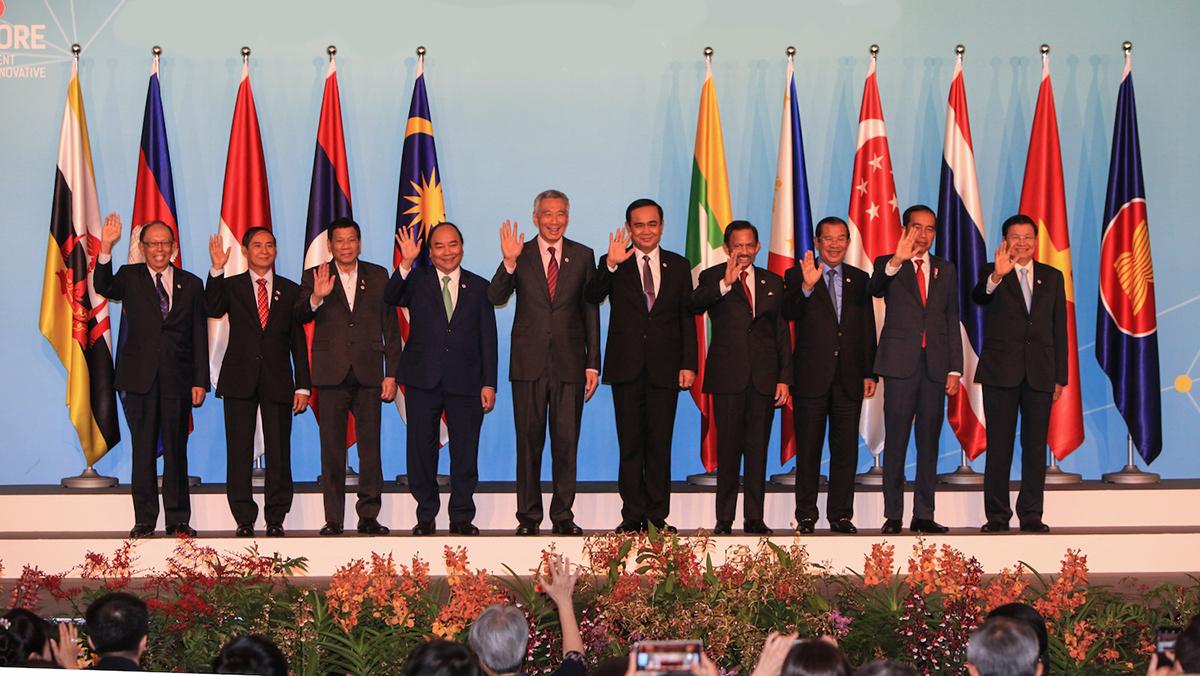 34-й саммит АСЕАН в Бангкоке