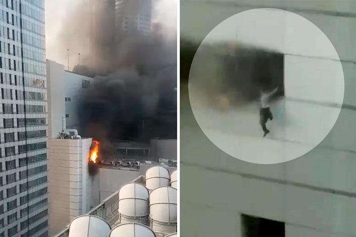 Пожар в крупнейшем торговом центре Таиланда