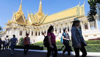 Число китайских туристов в Камбодже заметно выросло в первом квартале 2019 года
