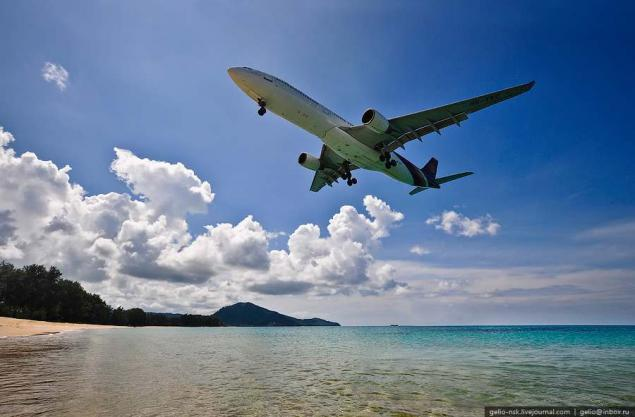 В ноябре возобновятся полеты из Благовещенска в Таиланд