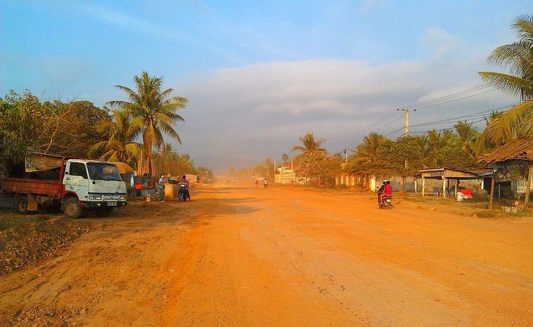 Камбоджа, Кеп: море и крабы
