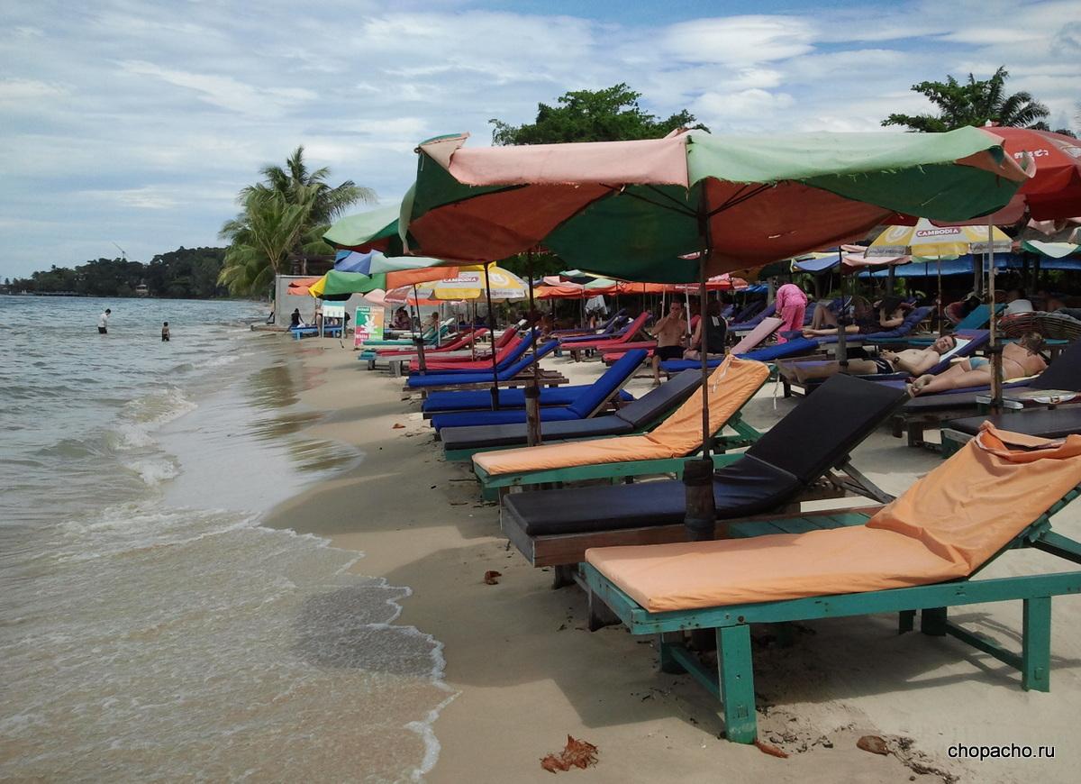 Плюсы и минусы пляжей Сиануквиля и не только…