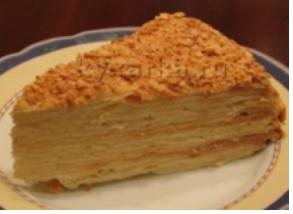 Торт Наполеон (1 кг.)