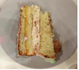 Торт Лакомка (белый бисквит) (1 кг.)