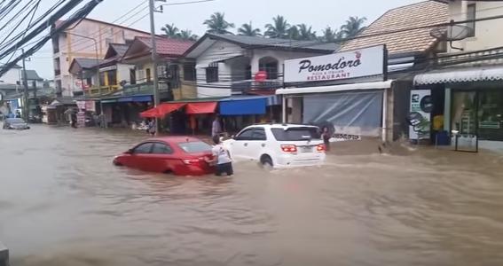 Потоп на Самуи в декабре