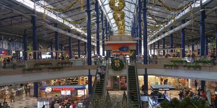 Торговый комплекс Central Marina был открыт после реновации 19 декабря 2016 года, на Second Road в Северной Паттайе