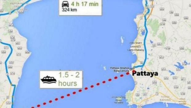 Паром Паттайя-Хуахин стартует 1 января 2017 года