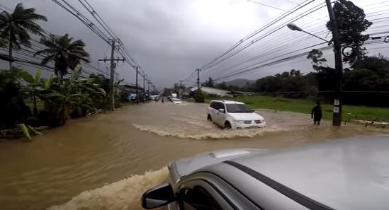 Наводнение в Таиланде на острове Самуи | 2017